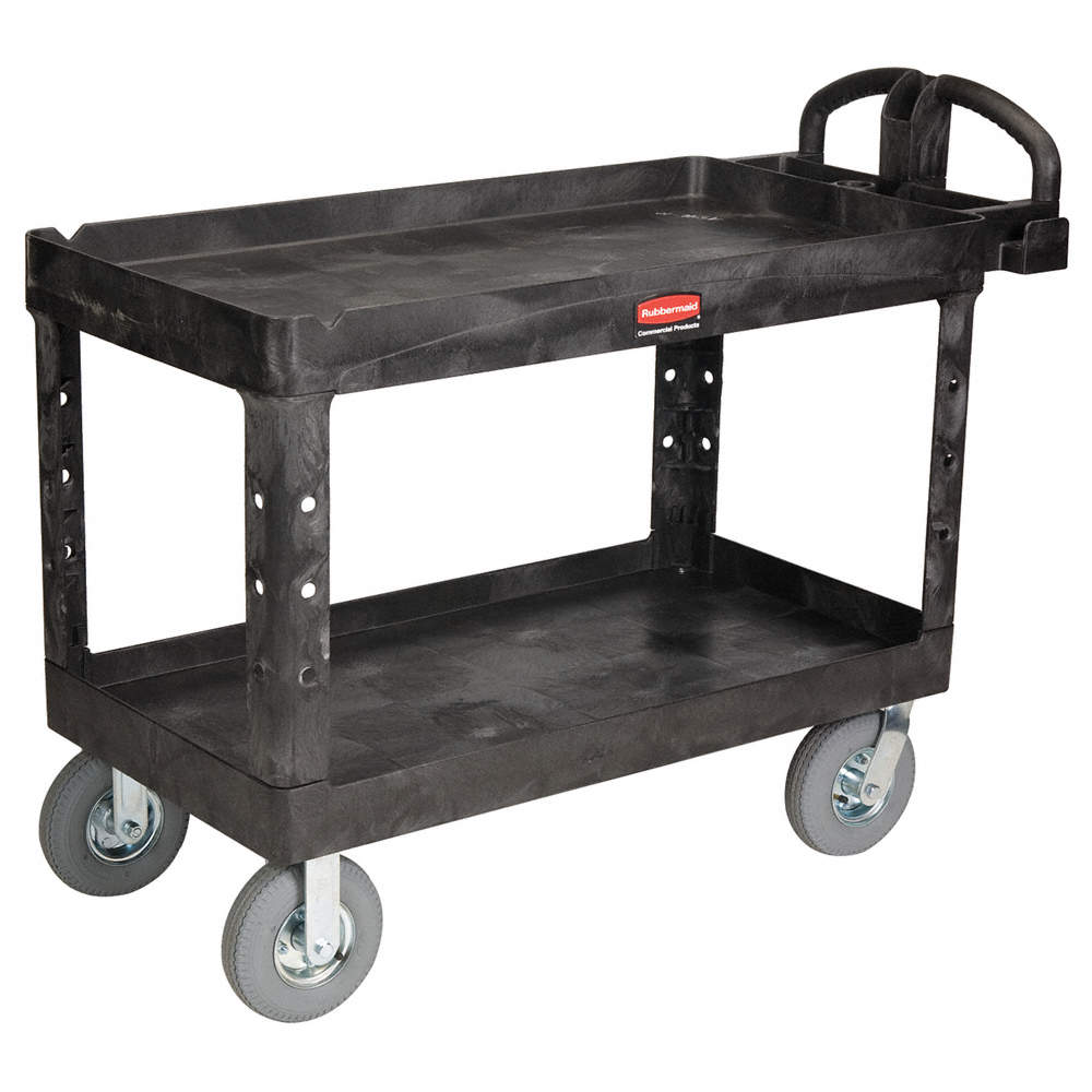 zoom outreset put photo at full zoom u0026 then double click raised handle deep shelf utility cart - Rolling Utility Cart