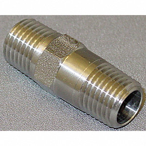 "1/4"" Piston Spring Check Valve, Stainless Steel, MNPT Connection Type"