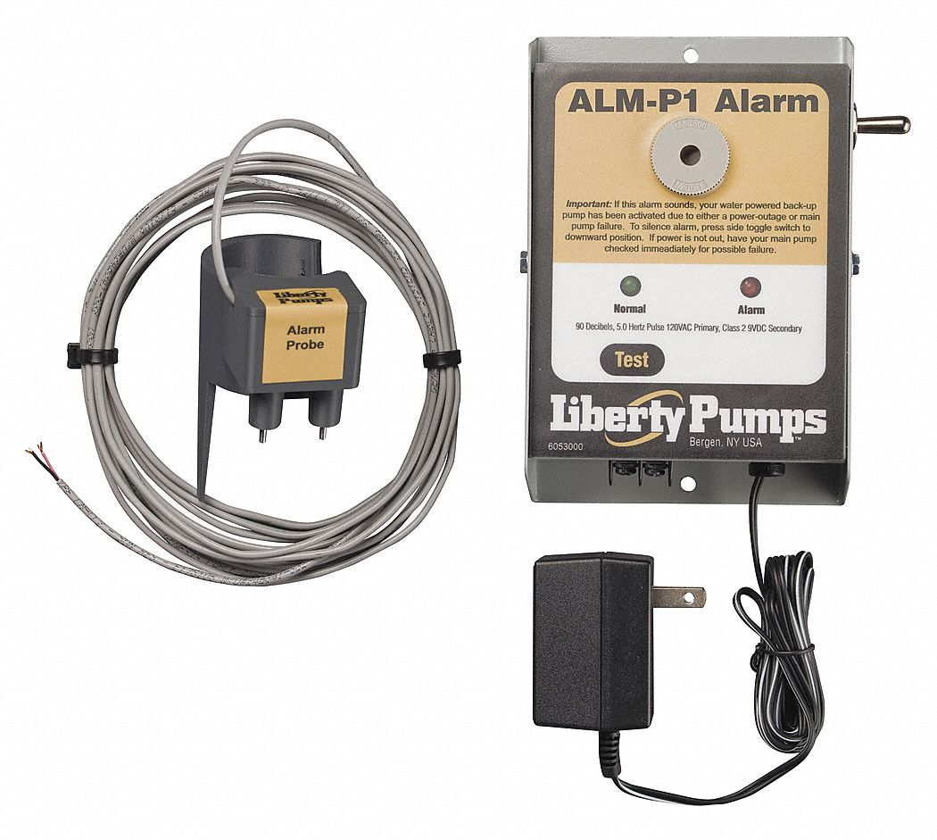 LIBERTY PUMPS 115 AC Indoor High Water Alarm 4DKK6ALMP1 Grainger
