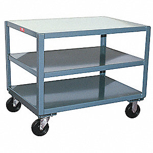 "Fixed Height Work Table, 19"" Depth, 30"" Height, 36"" Width,1400 lb. Load Capacity"