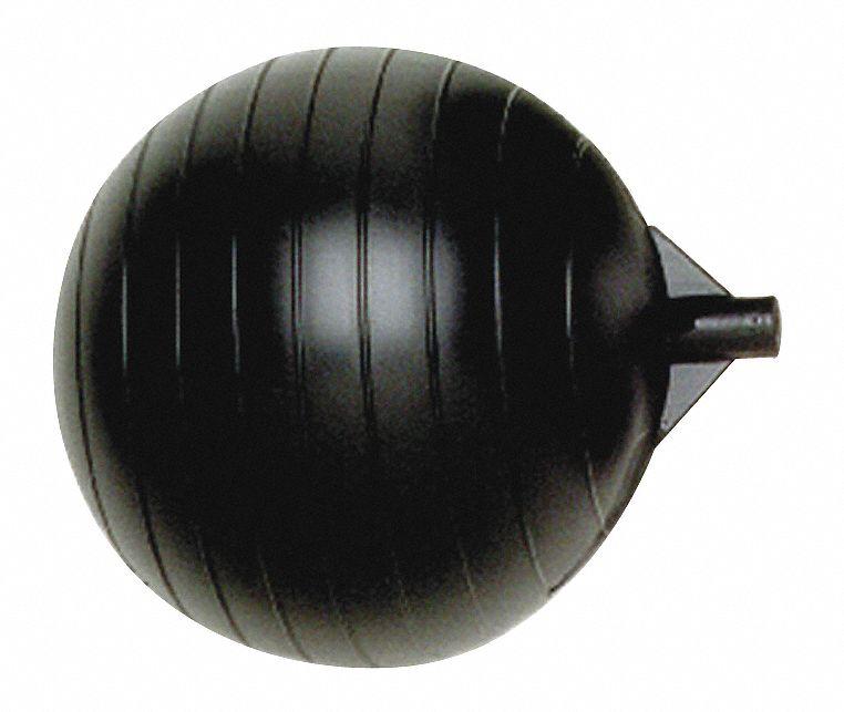 "BOB PF6 Float Ball,1//4/""-20 Thread Sz,6/"" dia.,6/""L"