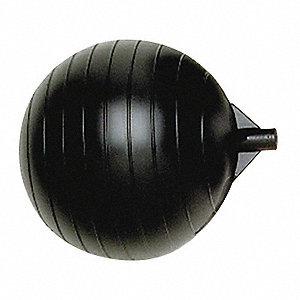 FLOAT BALL,1/4-20 IN,6 IN L,6 IN DI