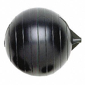 FLOAT BALL,5/16-18 IN,8 IN L,8 IN D