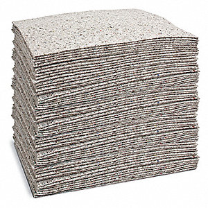Absorbent Pads,24 gal.,15 In. W,PK100