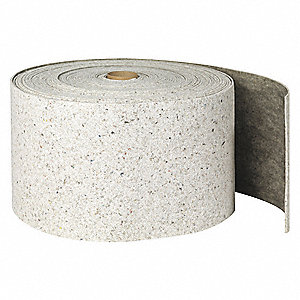 Absorbent Roll,Universal,Gray,150 ft.L