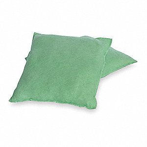 Polyester Material Made From Recycled Plastic Bottles Absorbent Pillow, Fluids Absorbed: Universal /