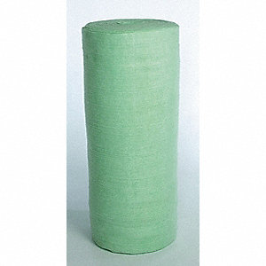 Light, Polyester Material Made From Recycled Plastic Bottles Absorbent Roll, Fluids Absorbed: Univer
