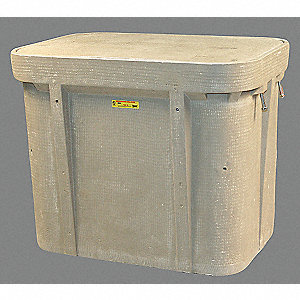 "PG Underground Enclosure Assembly, Fiber Optics, 33-7/8""L x 22-1/4""W x 27""H Nominal Dimension"