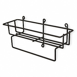 Wire Wire Rack, Gray
