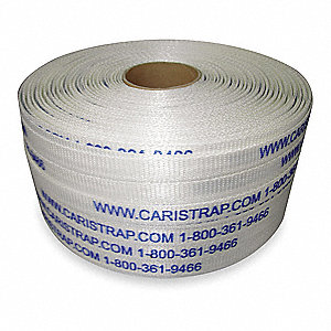 2910 ft. Plastic Strapping, Natural; Break Strength: 1623 lb.