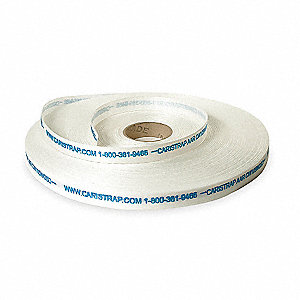 525 ft. Plastic Strapping, Natural; Break Strength: 3527 lb.