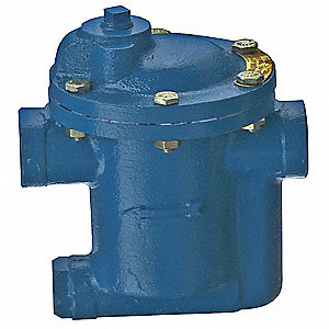 Steam Trap, 30 psi, 1000 Lbs/Hr,Max. Temp. 450°F