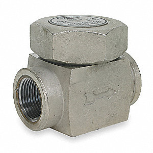 Steam Trap,800F,Stainless Steel,600 psi