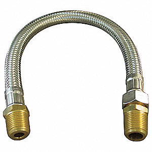 "36"" Flexible Hose Assembly with 375 Max. Working Pressure (PSI)"