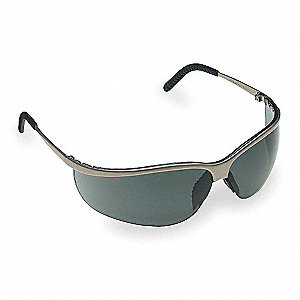 Metaliks™ Sport Anti-Fog Safety Glasses, Gray Lens Color