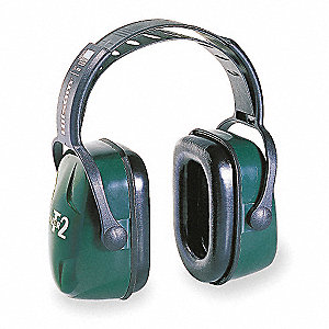 28dB Over-the-Head Ear Muffs, Green
