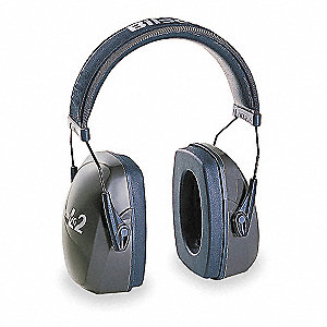 Ear Muff,27dB,Over-the-H,Gra