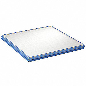 "24x24x2 MERV 14 2"" Plastic Mini-Pleat Filter with Gasket"