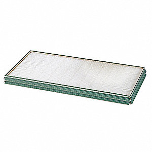 "16x25x2 MERV 11 2"" Plastic Mini-Pleat Filter with Gasket"