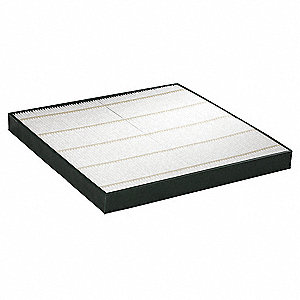 MERV 11 Synthetic Electrostatic Mini-Pleat Filter,16x25x2