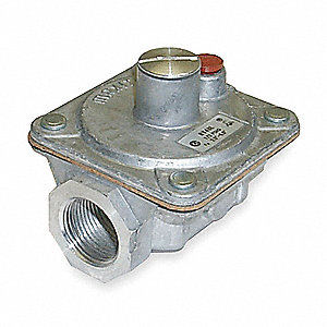 Gas Pressure Regulator,3/4 In