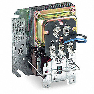 hvac relays hvac controls and thermostats grainger industrial supply rh grainger com honeywell r8285a1048 wiring diagram Honeywell Thermostat Wiring Diagram