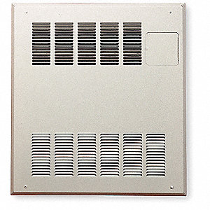HYDRONIC HEATER WALL CABINET,23 IN.