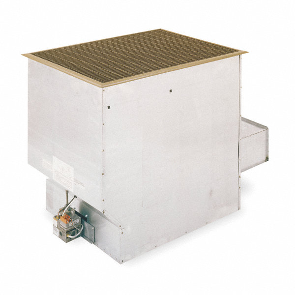 Cozy vented gas floor furnace ng btuh output 43 400 for Furnace brook motors inventory