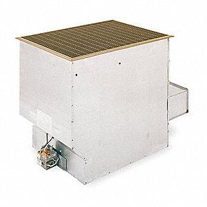 Elegant Vented Gas Floor Furnace, NG, BtuH Output 21,000, ...