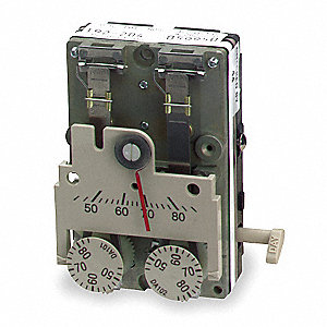 Pneumatic Thermostat,DA,45 to 85F