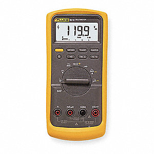 FLUKE (R) Fluke-83-V Full Size - General Features Digital Multimeter, -238 to 1194 Degrees F (-200 t