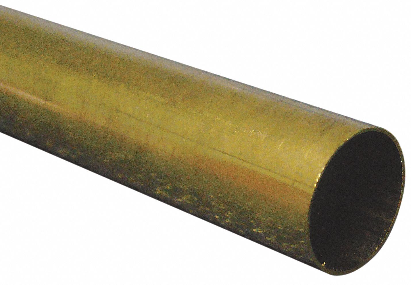 3 ft Brass Tubing, 15/32 in Outside Dia., 0.441 in Inside Dia., General Purpose