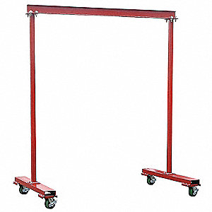 Portable Gantry Crane,600 lb.,5 ft. 10""