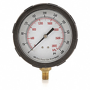 Pressure Gauge,Test,4 In