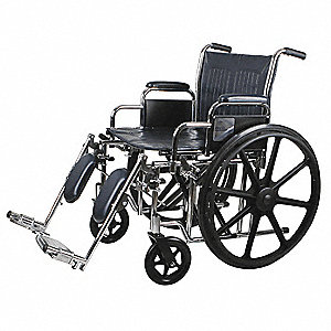 20 IN. WHEELCHAIR WITH ELEVATING L/