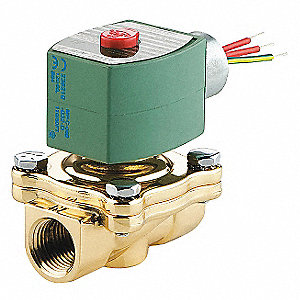 SOLENOID VALVE,1/2 IN,ORIFICE 5/8 I