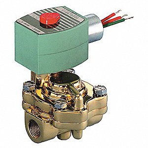 SOLENOID VALVE,STEAM AND HOT WATER,