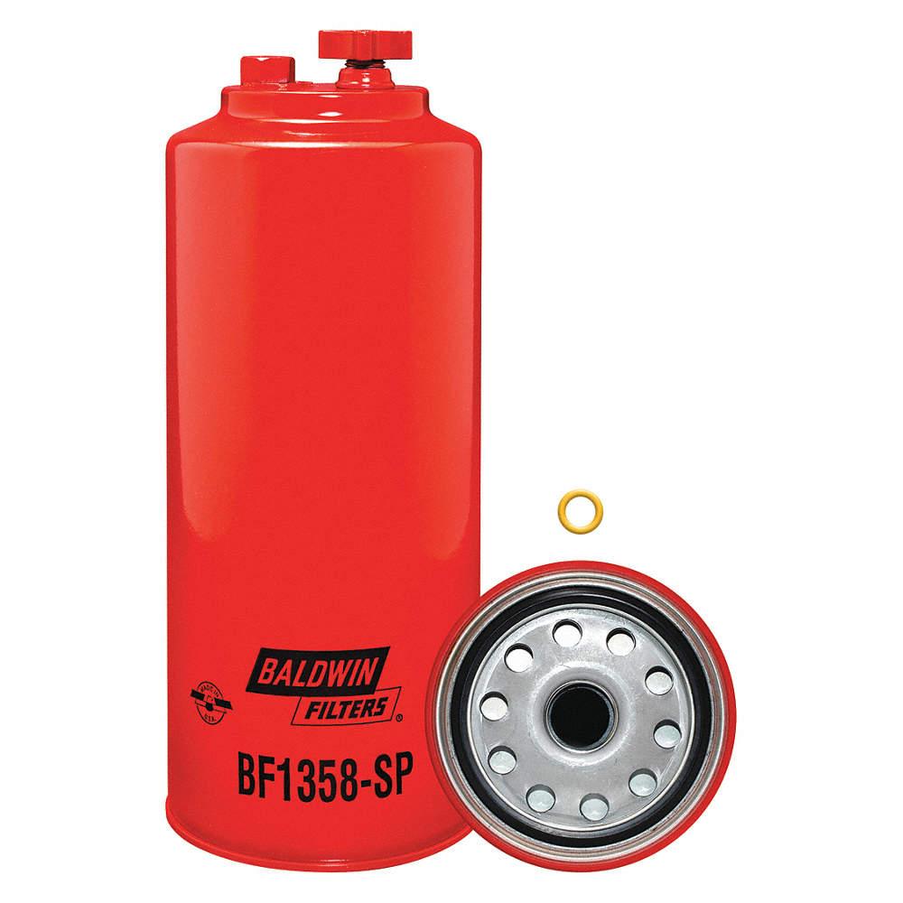 BALDWIN FILTERS Fuel Filter, Spin-On Filter Design - 4ENL4 BF1358-SP -  GraingerGrainger