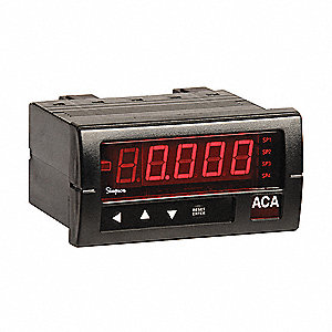 Digital Panel Meter,AC Voltage,600 VAC
