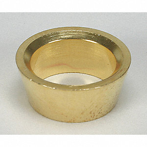"Brass Compression Front Ferrule, 1"" Tube Size"
