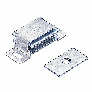 Magnetic Catch,Pull-to-Open,Aluminum