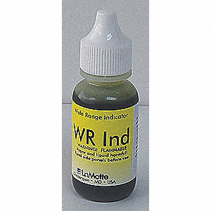 Reagent Refill,pH Test Kit,3.0 to 10.5