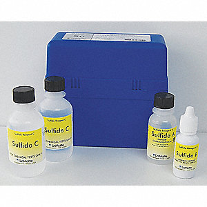 SMART Reagent,Sulfide,0 to 1.5PPM,PK50
