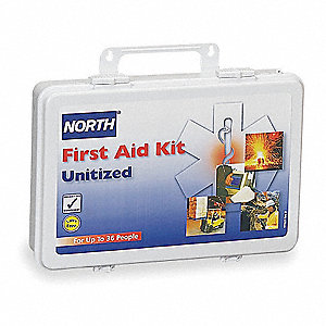 First Aid Kit,Unitized,White,36 People