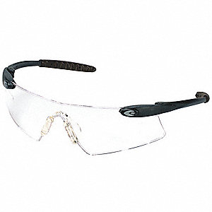 Persuader  Scratch-Resistant Safety Glasses, Clear Lens Color