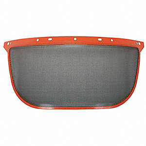 Faceshield Visor,Steel Mesh,Black