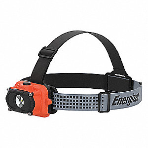 LED, ABS Plastic, 50,000 hr. Lamp Life, Maximum Lumens Output: 60, Orange