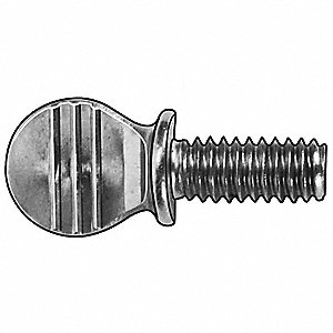Thumb Screw,Spd,3/8-16,3/4 L,PK10