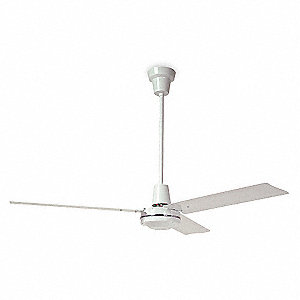 Dayton 3 Blade Industrial Ceiling Fan 120 120v 10 To 45