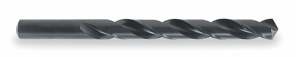 Jobber Length Drill Bit,  Drill Bit Size 3/16 in,  Drill Bit Point Angle 118 °,  High Speed Steel